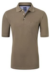 Redmond Regular Fit poloshirt, kaki