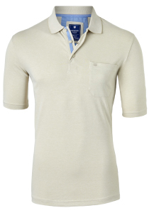 Redmond Regular Fit poloshirt, beige