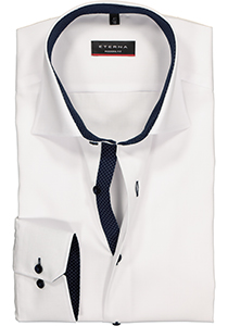 ETERNA Modern Fit overhemd, wit fijn Oxford (special)