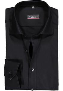 Eterna Modern Fit overhemd, Mouwlengte 7, zwart