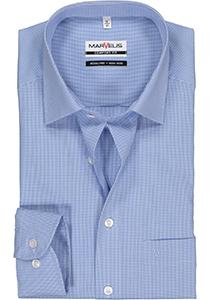 MARVELIS Comfort Fit overhemd, blauw / wit geruit