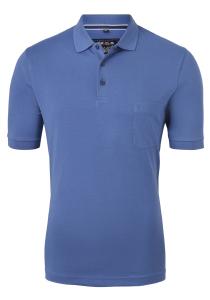 Marvelis Modern Fit poloshirt Quick Dry, kobalt blauw