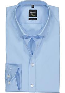 OLYMP No. 6 Six, Super Slim Fit overhemd, lichtblauw