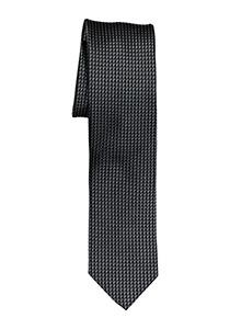 OLYMP smalle stropdas, antraciet grijs