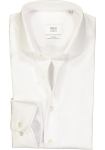 ETERNA 1863 Slim Fit overhemd, wit twill (premium)