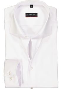 ETERNA Modern Fit overhemd, niet doorschijnend wit twill