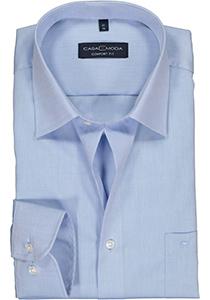 Casa Moda Comfort Fit overhemd, mouwlengte 7, licht blauw