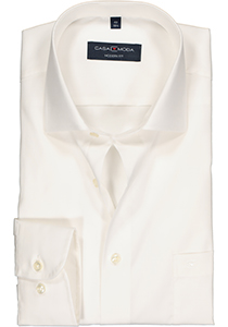 Casa Moda Modern Fit overhemd, mouwlengte 72 cm, beige / off white