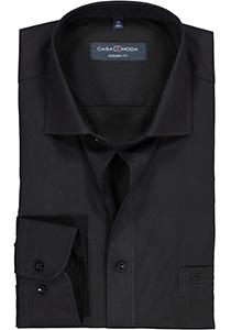 Casa Moda Modern Fit overhemd, mouwlengte 72 cm, zwart