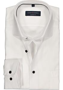 Casa Moda Comfort Fit overhemd, wit structuur