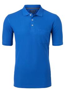 Casa Moda Comfort Fit poloshirt, kobalt blauw