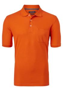 Casa Moda Comfort Fit poloshirt, oranje