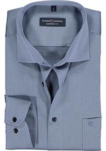 Casa Moda Comfort Fit overhemd, blauw twill