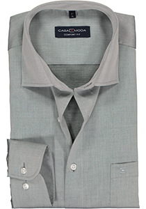 Casa Moda Comfort Fit overhemd, grijs twill