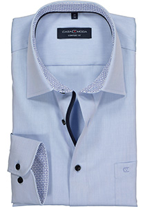 Casa Moda Comfort Fit overhemd, lichtblauw (contrast)