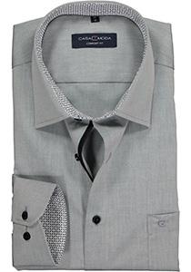 Casa Moda Comfort Fit overhemd, grijs (contrast)