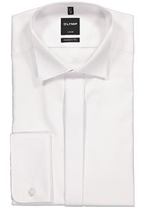 OLYMP Modern Fit Smoking overhemd, structuur stof (wing)