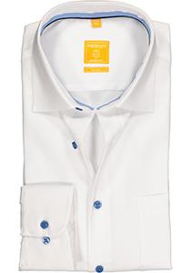 Redmond Modern Fit overhemd, wit (contrast)