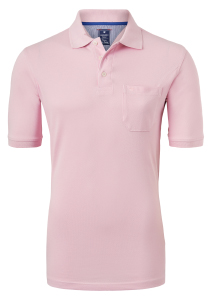 Redmond Regular Fit poloshirt, roze