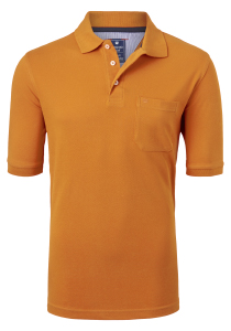 Redmond Regular Fit poloshirt, oranje