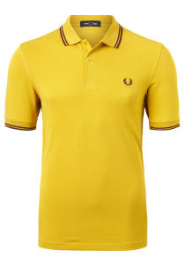 Fred Perry M3600 shirt, polo Gold / Port / Port