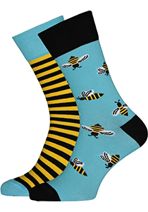 Many Mornings sokken Bee Beey