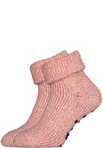Homepads huissokken wol, roze