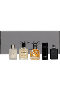 Heren cadeauset: Armani The Men's Collection miniatures