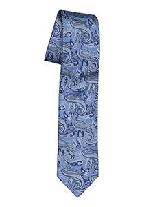Pelucio stropdas, blauw paisley