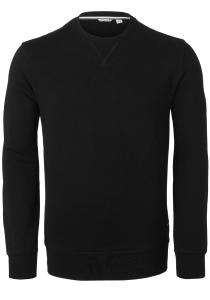 Bjorn Borg crew neck sweater sweatshirt (dik), zwart