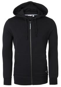 Bjorn Borg hoodie jacket sweatvest (dik), zwart