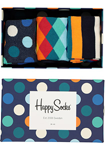Happy Socks herensokken, Classic Mix Gift Box