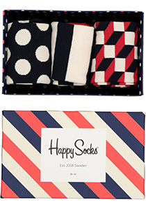 Happy Socks herensokken, Classic Stripe Gift Box