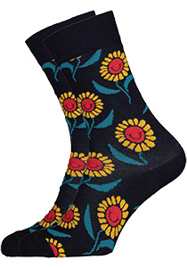Happy Socks sokken Sunflowers
