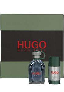 Heren cadeauset: Hugo Boss Hugo 75ml + deodorant stick 75ml