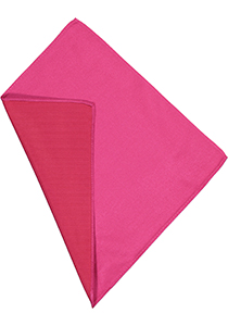 Michaelis pocket square, fuchsia roze pochet