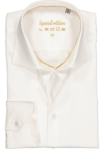 Ledûb Tailored Fit overhemd, beige