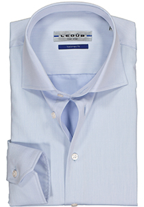Ledûb Tailored Fit overhemd, blauw