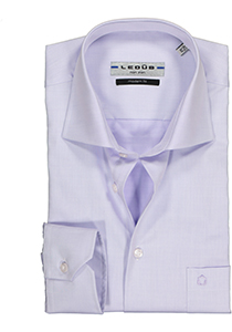 Ledûb Modern Fit overhemd, paars