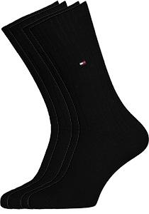 Tommy Hilfiger True America sokken (2-pack), zwart