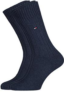 Tommy Hilfiger True America sokken (2-pack), jeans blauw