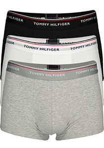 Tommy Hilfiger low rise trunk (3-pack), zwart, wit, grijs