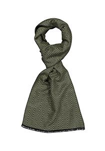 Michaelis heren sjaal, groen vissengraat