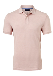 Profuomo Slim Fit polo, roze