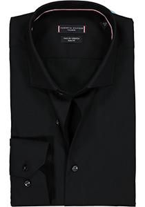 Tommy Hilfiger Core stretch Slim Fit overhemd, zwart