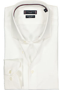 Tommy Hilfiger Core stretch Slim Fit overhemd, wit