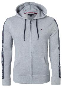 Tommy Hilfiger hoodie jacket, sweatvest grijs