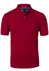 Tommy Hilfiger Regular polo, rood Primary Red