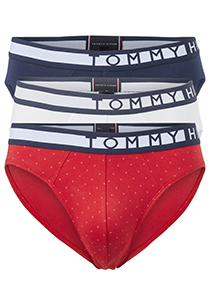 Tommy Hilfiger slips (3-pack), rood, blauw, wit