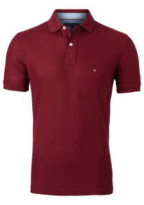 Tommy Hilfiger Regular polo, regatta red